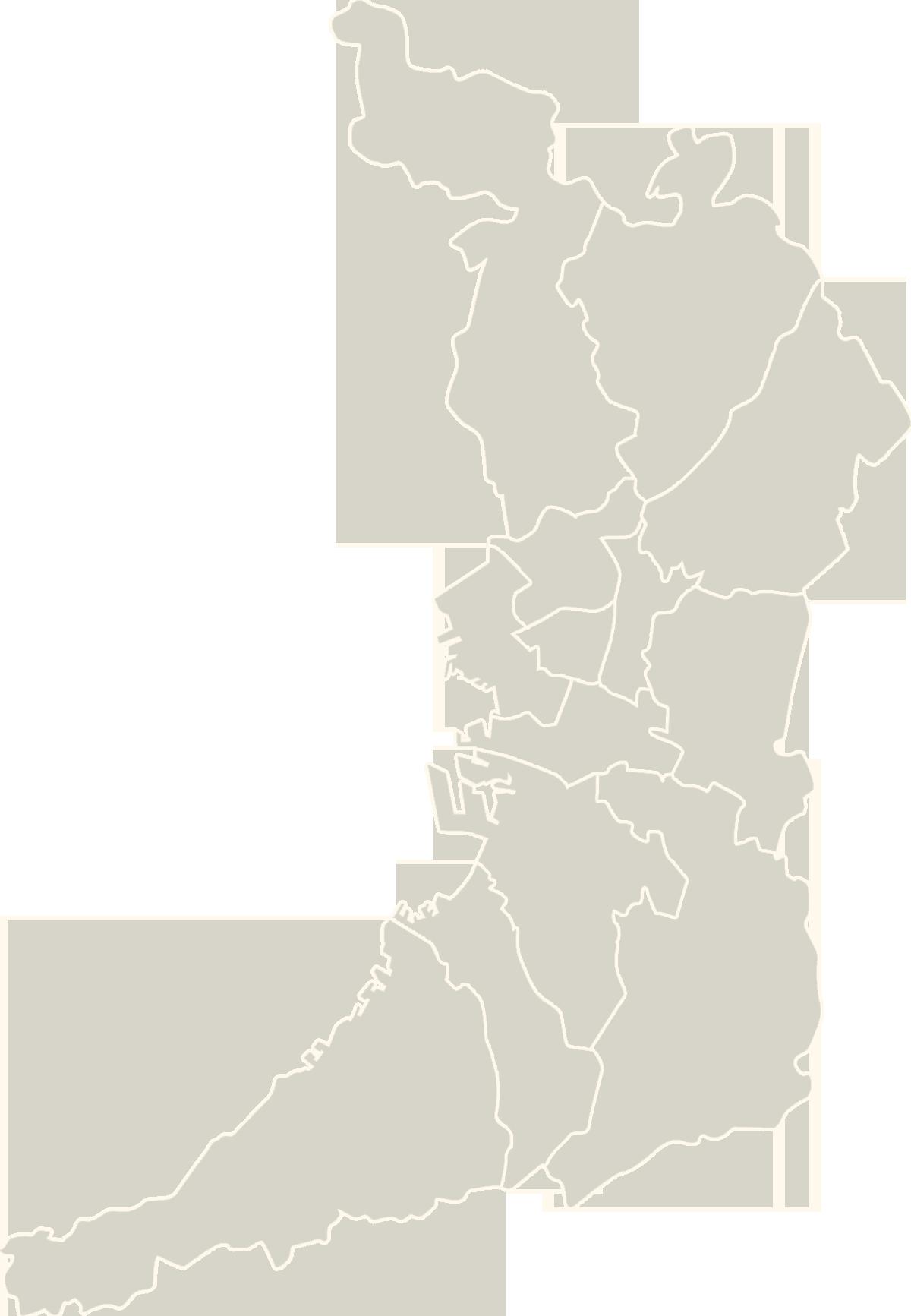 大阪府地図